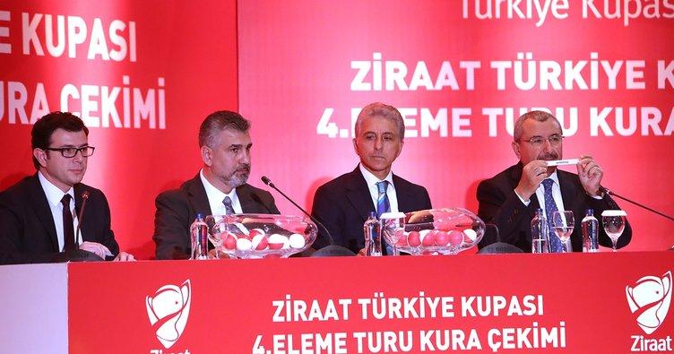 Ziraat Türkiye Kupası'nda kuralar çekildi! 4 Büyükler'in rakipleri...