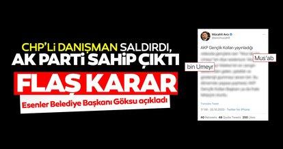 SON DAKİKA... AK Parti, CHP'li danışmanın saldırdığı sahabenin adını gençlik merkezine verdi