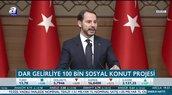 Bakan Albayrak 100 Bin Sosyal Konut Tanıtım Toplantısı'nda konuştu