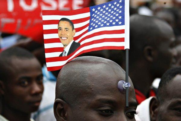 Obama Gana'da