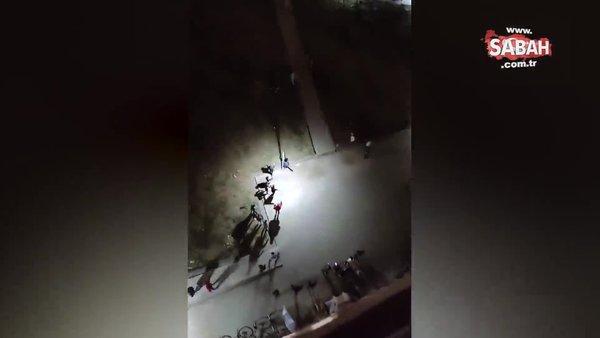 Edirne'de üniversite öğrencilerinin yurtta yaptığı Cristiano Ronaldo sevinci sosyal medyayı salladı | Video