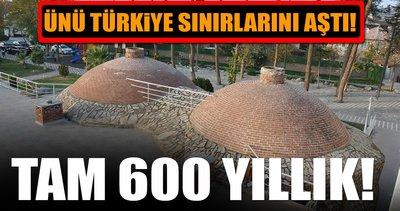 600 yıllık Osmanlı hamamının ünü sınırları aştı