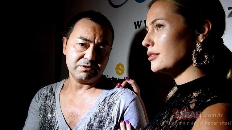 Serdar Ortaç'ın eşi Chloe Loughnan geceye damga vurdu