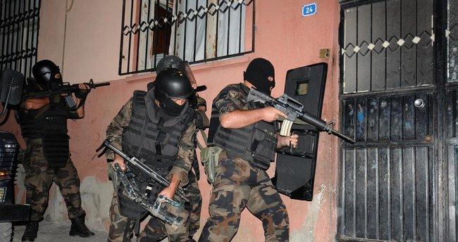Uyuşturucuya darbe operasyonlarında 13 tutuklama