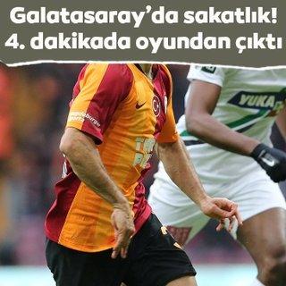 Galatasaray'da Marcelo Saracchi sakatlandı