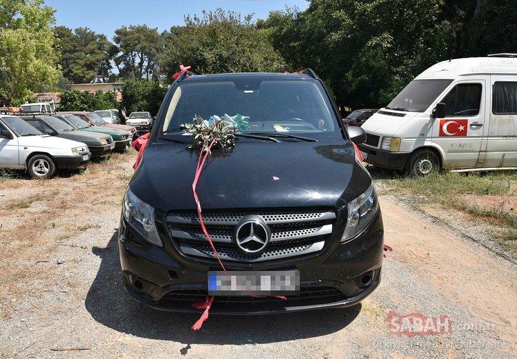 Polisleri bile şoke eden olayda flaş gelişme! Düğün aracı süsü vermişlerdi..