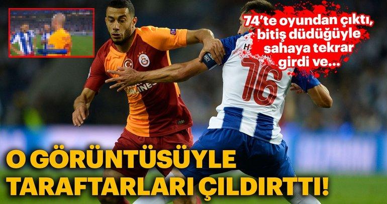 Belhanda o görüntüsüyle Galatasaray taraftarlarını çıldırttı