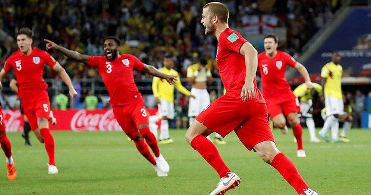 Dünya Kupası'nda son çeyrek finalist İngiltere