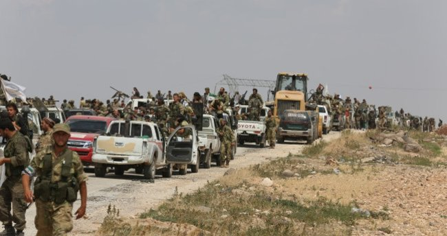 ÖSO birlikleri, El Bab'a ilerliyor