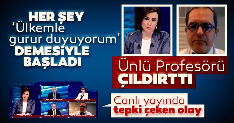 Her şey 'ülkemle gurur duyuyorum' demesiyle başladı! Mehmet Çilingiroğlu ve Didem Arslan Yılmaz arasında gergin anlar...