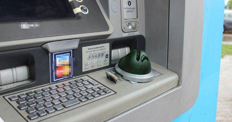 ATM'ye kurulan düzenek son anda fark edildi