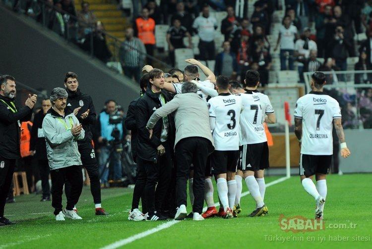 Saha içinde böyle tartıştılar! Beşiktaşlı Medel ve Quaresma...