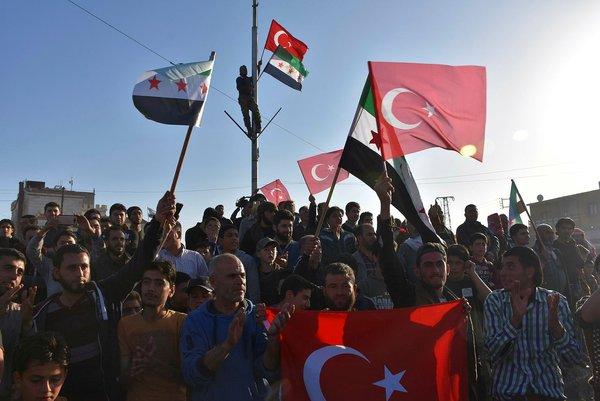 Tel Rıfat halkı Türk askerini sevinçle karşıladı