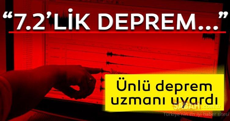 Son Dakika Haberi: Prof. Dr. Ahmet Ercan'dan korkutan Marmara depremi uyarısı! '7.2'lik deprem…'