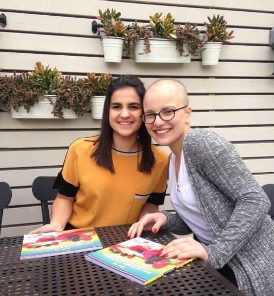 Kanser arkadaşı için tarif kitabı yazdı