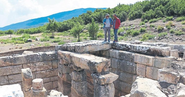 Kibyra Antik Kenti'ne gladyatör katkısı