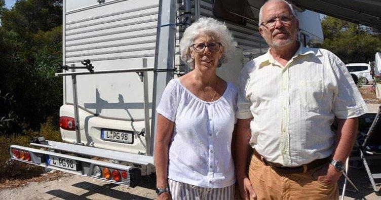 Türkiye aşığı Alman çift