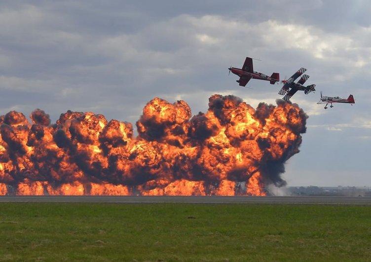 Avustralya'daki Airshow nefes kesti