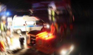 TEM'de kamyonetin çarptığı kadın öldü