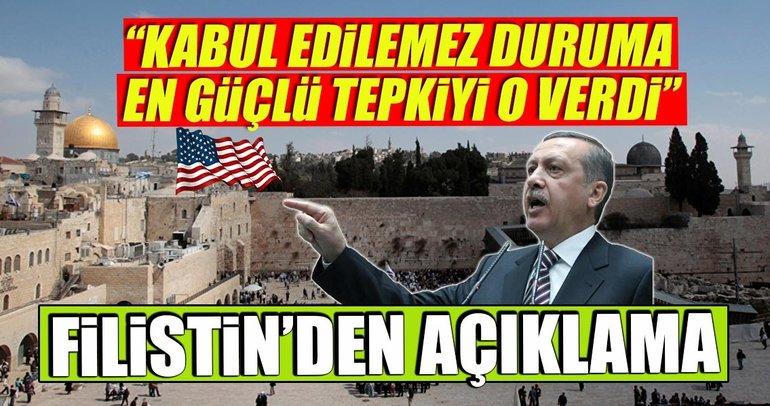 Şu ana kadar en güçlü tepkiyi Cumhurbaşkanı Erdoğan verdi