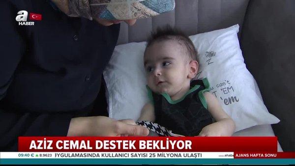 5 aylık SMA hastası Aziz Cemal yardım bekliyor! | Video