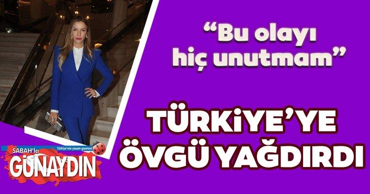 'Türkiye'de yaşamaktan çok mutluyum'