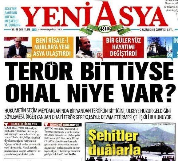Kripto FETÖ'cü gazete yalana ve iftiraya doymuyor!