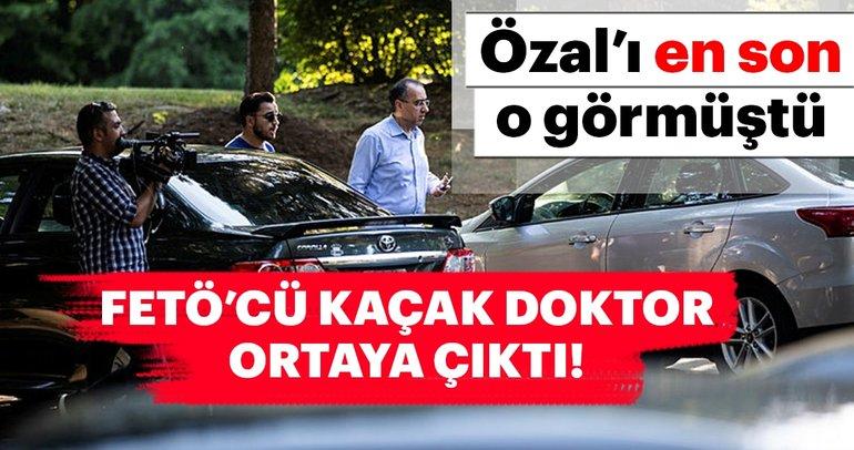 Turgut Özal'ı en son gören FETÖ'cü doktor ABD'de görüntülendi