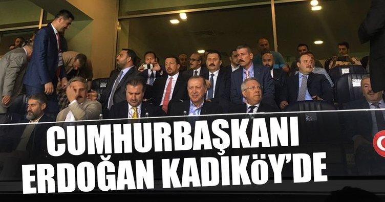 Cumhurbaşkanı Erdoğan Fenerbahçe maçında