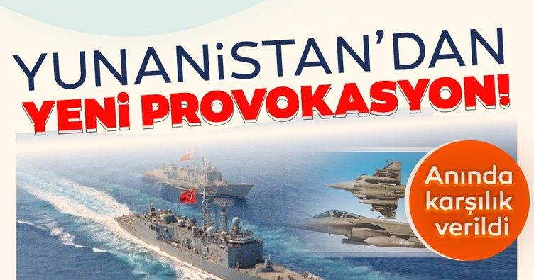 Son Dakika Haberleri! Ege Denizi'nde hareketli dakikalar... Yunanistan'dan Türk gemisine taciz!