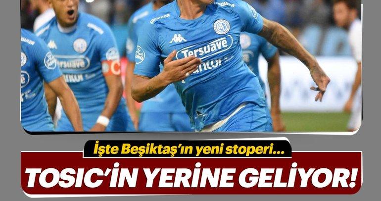 Beşiktaş'ta Tosic'in yerine Cristian Lema!