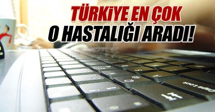 Türkiye en çok cilt hastalıklarını aratmış