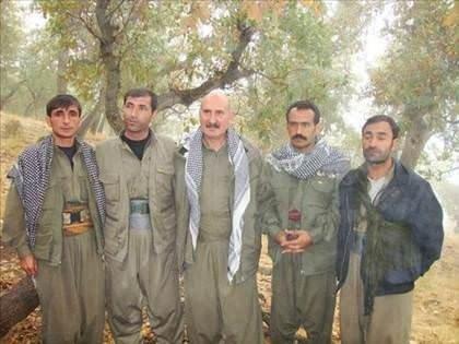 Gizlice çekilmiş PKK kampı görüntüleri