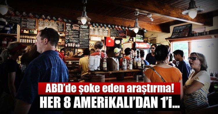 Her 8 Amerikalı'dan biri alkol bağımlısı
