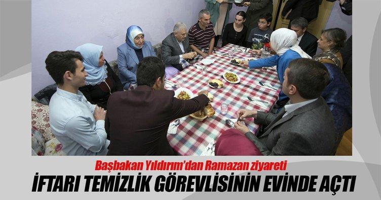 Başbakan Yıldırım'dan iftar ziyareti