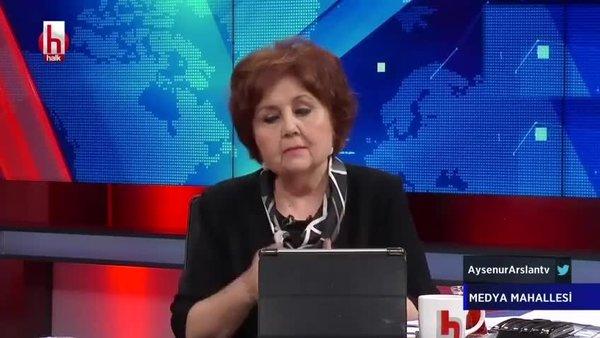 Halk TV'de canlı yayında Ayşenur Arslan'dan skandal Fransa ve Macron açıklaması   Video