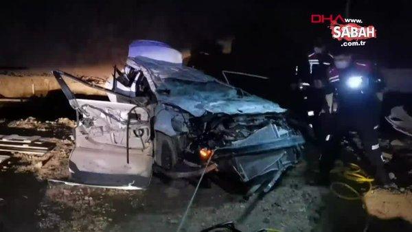 SON DAKİKA: Bursa'da feci kaza! 10 metre yüksekten düşen araçtaki 2 kişi öldü | Video