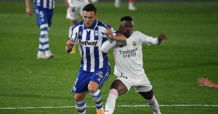 Real Madrid'e Alaves şoku! Real Madrid 1-2 Alaves