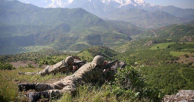 Hakkari ve Siirt'te 4 terörist etkisiz hale getirildi