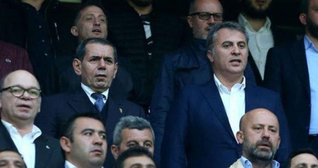 Dursun Özbek, taraftarla birlikte maça gidecek!