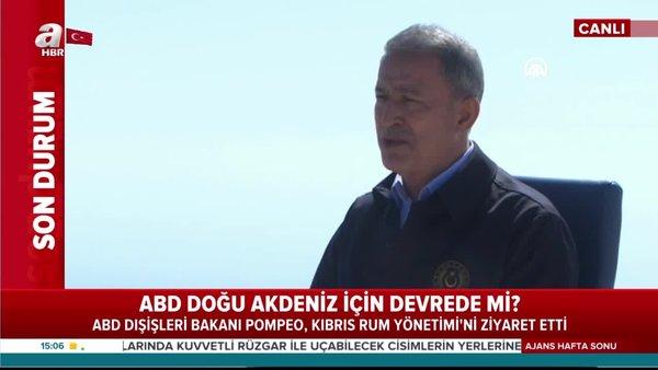Bakan Akar'danDoğu Akdeniz'deki gerilime ilişkin son dakika açıklamalar (13 Eylül 2020 Pazar)   Video