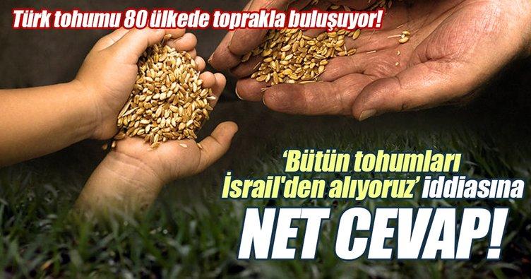 Türk tohumu 80 ülkede toprakla buluşuyor!