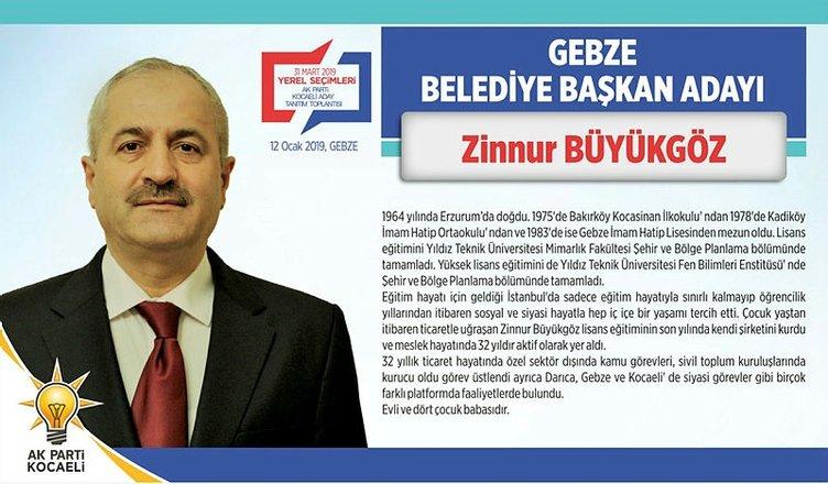 AK Parti Kocaeli Belediye Başkan adayları belli oldu