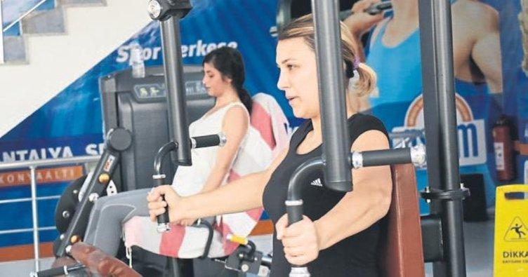 Antalyalılar spora koşuyor