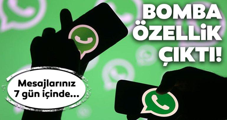 WhatsApp kaybolan mesajlar Android için çıktı! WhatsApp kaybolan mesajlar nasıl kullanılır?