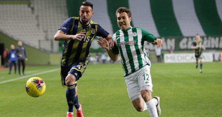 Konyaspor 1 - 0 Fenerbahçe MAÇ SONUCU