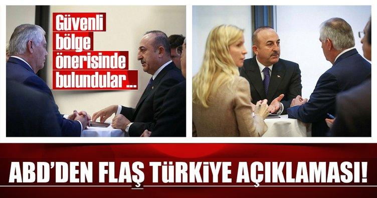 Son Dakika Haberi: ABD'den Türkiye'ye güvenli bölge önerisi