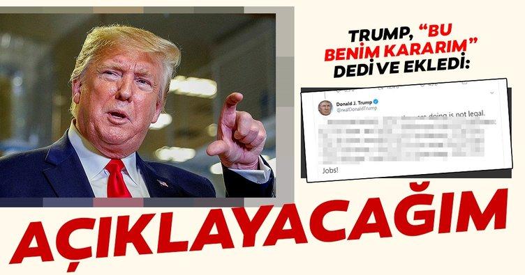 Trump: Seçimlerden önce mali kayıtlarımı yayımlayacağım