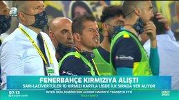 Fenerbahçe kırmızıya alıştı