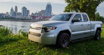 Workhorse W-15 ile ilk elektrikli pick-up geldi